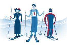 Výstava Století na lyžích