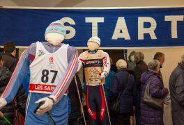Z vernisáže výstavy Století na lyžích