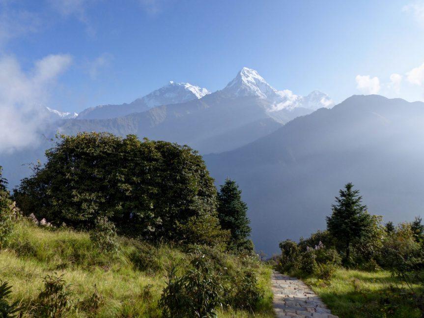 Trek kolem Annapurny