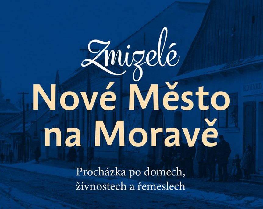 Křest pokračování knihy Zmizelé Nové Město na Moravě