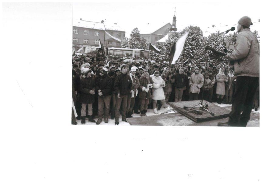 Výstava k 17. listopadu 1989