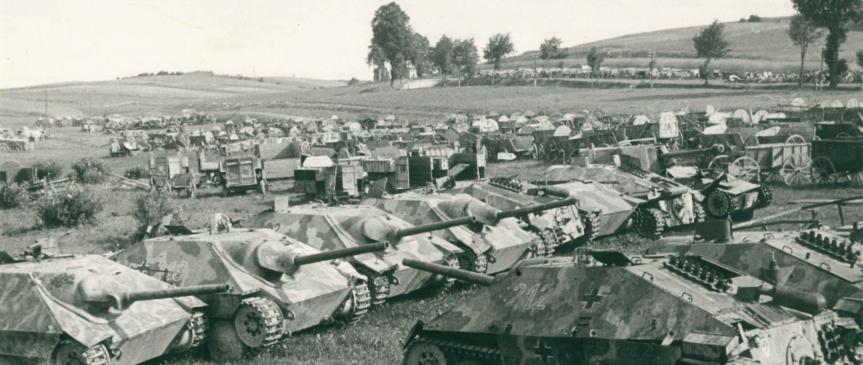 10. květen 1945 – ústup Němců a příjezd Rudé armády