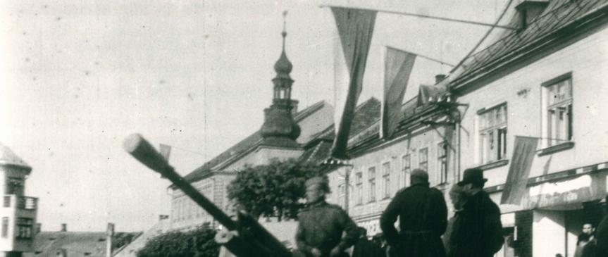 11. květen 1945 – osvobozené město