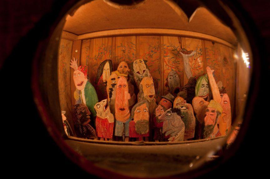 Výstava hybohledů a dřevorytů Pavla Macka