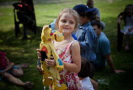 Divadlo pro děti o pejskovi a drakovi